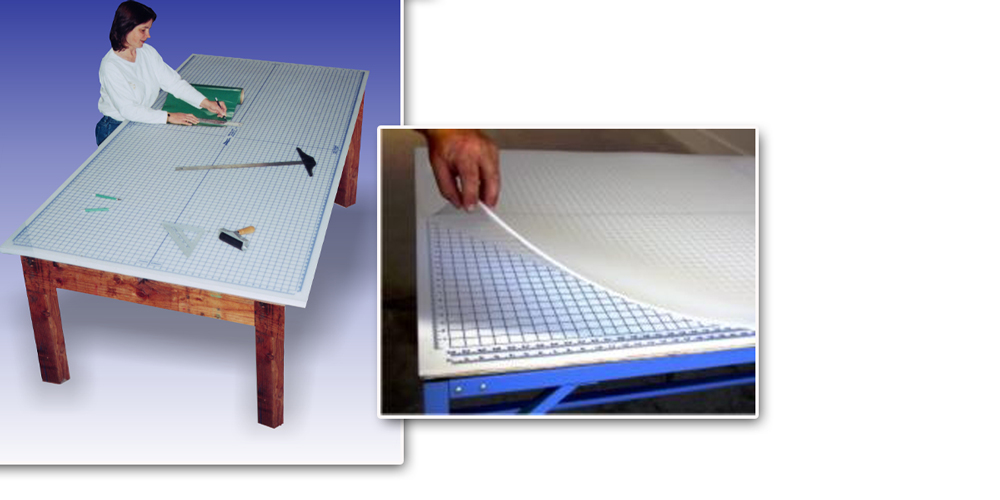 4' x 2' Unprinted Rhino Cutting Mat