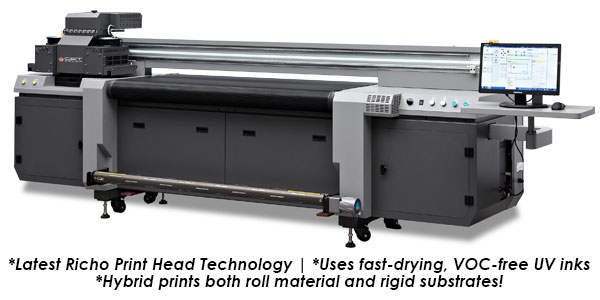"CET 63"" UV Hybrid Roll/Flatbed Printer"