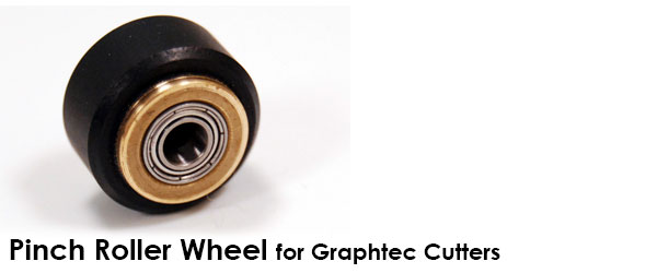 Pinch Roller Wheel only For Graphtec Cutters