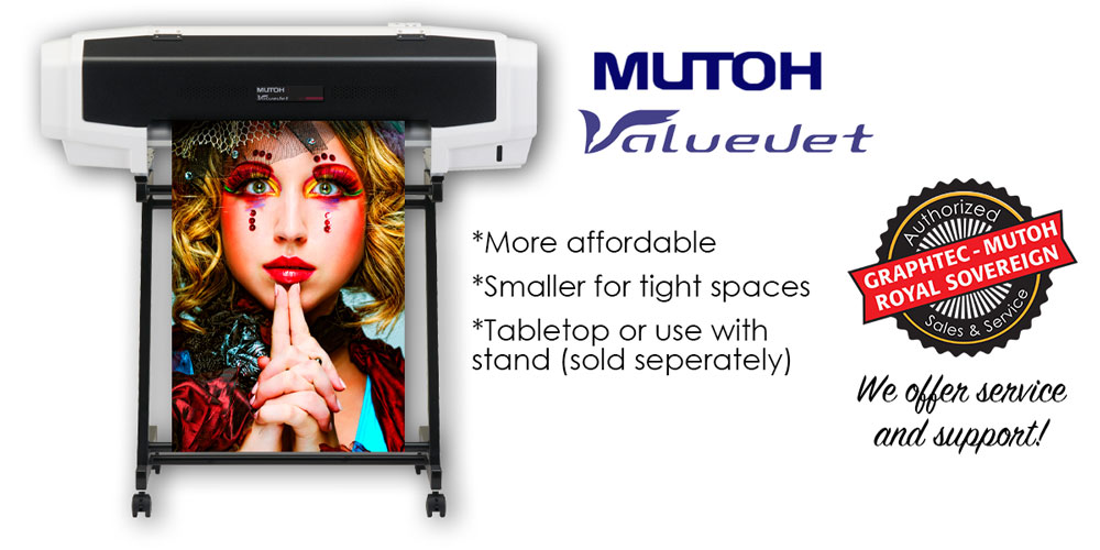 Mutoh 628 24 Quot Valuejet Digital Printer Signs Plus Banners