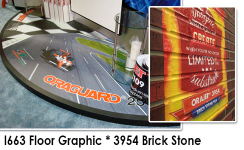 "Oracal 30""x 50Yds Floor Graphic Film 1663"